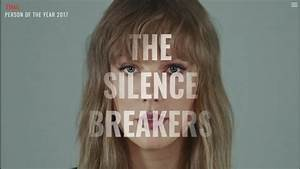 Time magazine names 'The Silence Breakers' behind #MeToo ...