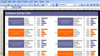 Survey Template Excel Excel Customer Survey Template