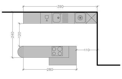 plan cuisine en parall e 8 plans de cuisine parallèle à différentes