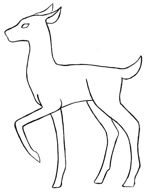 animals outline drawing   clip art