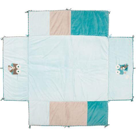 tapis de parc 95 x 75 cm gaston cyril de nattou