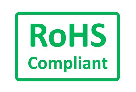 The Rohs Directive 2011/65/eu, Rohs Markings, And The Ce