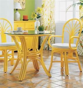 Petite Table En Verre : petite table ronde brin d 39 ouest ~ Teatrodelosmanantiales.com Idées de Décoration