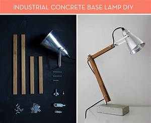 Ikea, Hack, How, To, Make, An, Industrial, Concrete, Base, Lamp, U00bb, Curbly