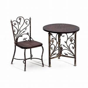 Chaise En Fer Forgé : meuble chaise fer forge meuble chaise fer forge3 ~ Dode.kayakingforconservation.com Idées de Décoration
