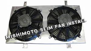 Mishimoto Slim Fan Hard Wire Instructions