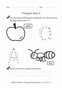 traceable letter a worksheet learn abc pinterest With traceable letters for crafts