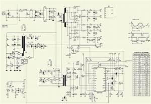Computer Power Supply 350 Watts Schematic Diagram