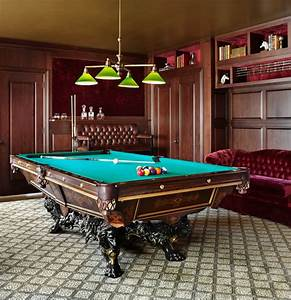 18 Stunning Billiard Room Designs For More Entertainment