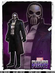 MARVEL Future Fight - Punisher (Noir) by DatKofGuy on ...