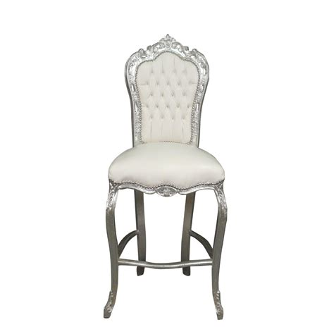 chaise de bar bar chair baroque style of louis xv baroque chairs