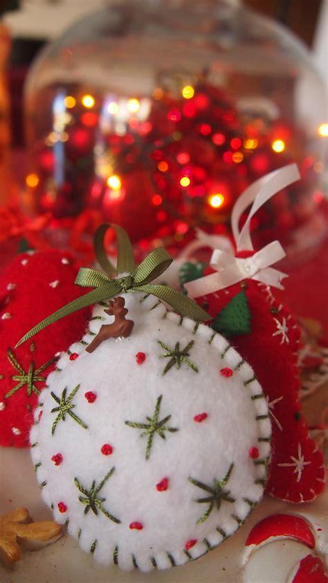 christmas felt ornament felt ornaments everything 4