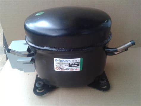 motor compressor embraco 1 4 hp r134a 127v geladeira e freezer recondicionado
