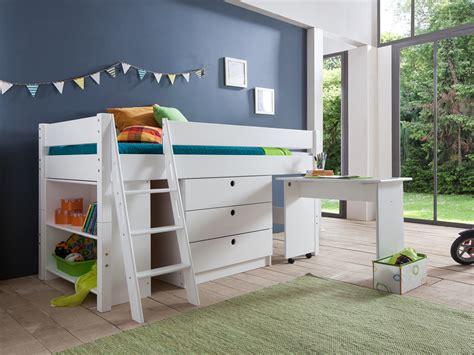 hauteur bureau lit en hauteur maison design wiblia com