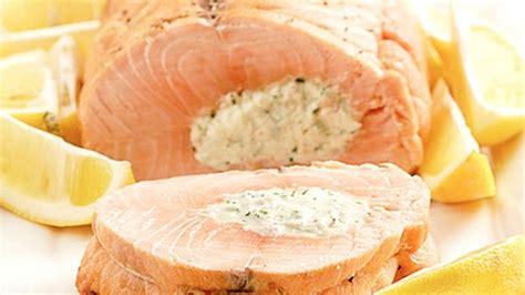 cuisiner saumon entier saumon farci