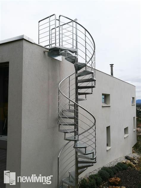 ringhiera scala esterna gladiolo scala esterna in ferro con gradini stati e