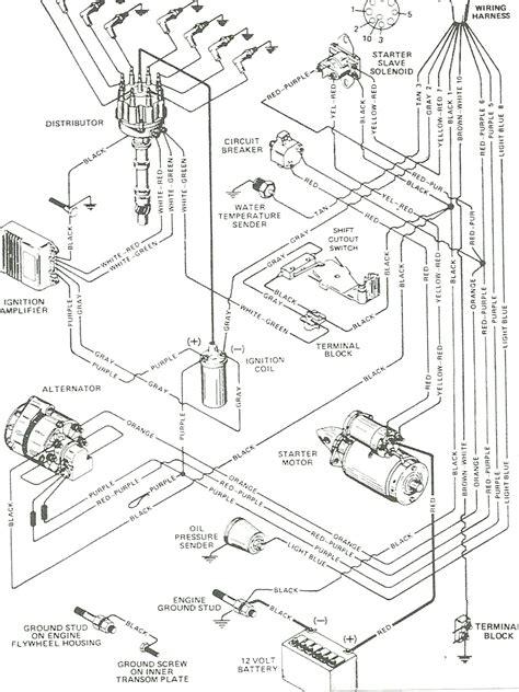 Mercruiser Trim Sender Wiring Diagram Parts