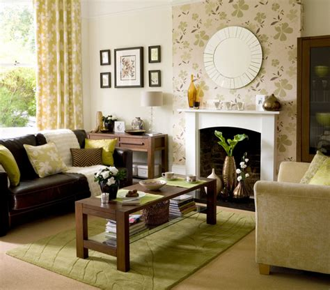 wallpaper accent wall living room interior living room ideas to die for
