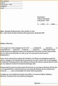 Contestation Fourriere Remboursement : exemple lettre r clamation crire une demande administrative jaoloron ~ Gottalentnigeria.com Avis de Voitures