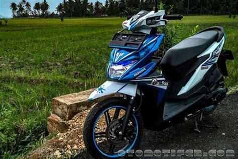 Honda Beat Modif by 200 Modifikasi Motor Beat 2019 Babylook Thailook