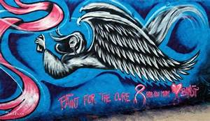 Paint for the Cure | Colors In Los Angeles | Street Art ...