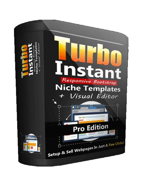 Turbo Instant Niche Templates by Turbo Instant Niche Templates Pro Plr Software For