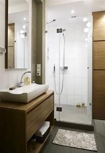 Petite Salle De Bain Avec Douche Italienne : 28 id es d 39 am nagement salle de bain petite surface ~ Carolinahurricanesstore.com Idées de Décoration