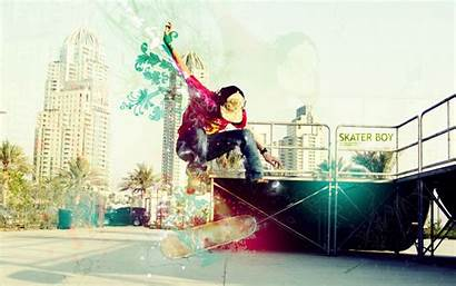 Skateboard Wallpapers Skater Skateboarding 4k Abstract