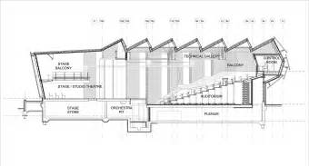 house architecture plans princess alexandra auditorium associated architects llp archdaily