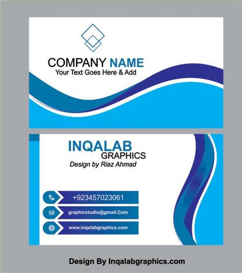 free business card template cdr business card templates vector coreldraw design cdr file