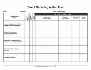 6 marketing action plan templates excel website With sales and marketing action plan template