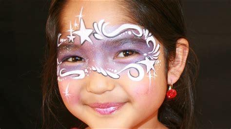fee schminken lila fee kinderschminken vorlage