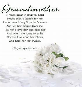 Memorial Cards ... Grandma Sick Quotes