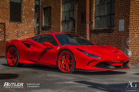 Home » cars » ferrari f12 berlinetta black rims 1080p. AG Luxury Wheels - Ferrari F8 Tributo AGLuxury AGL47 SPEC3 ...