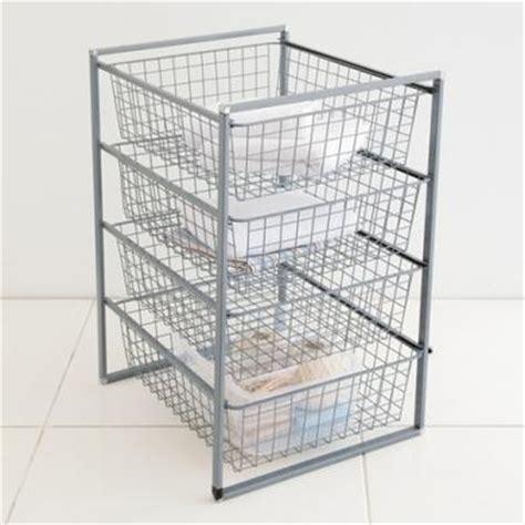 drawer slide sliding wire basket drawers