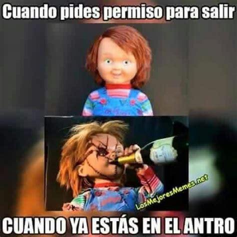 Memes De Chucky - chucky chiste meme chistorinos pinterest meme