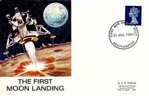 First Moon Landing, Apollo 11 | First Day Cover / BFDC