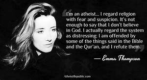 Atheism Quotes ... Woman Atheist Quotes