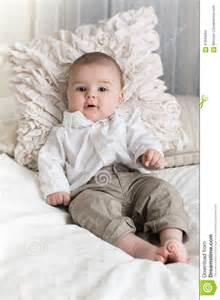 Cute Baby Boy with Blue Eyes