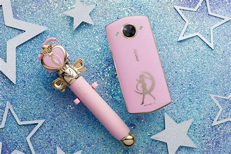 Meitu just released a Sailor Moon phone and selfie stick ...