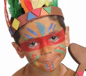 Modele Maquillage Carnaval Facile : grimtout maquillage l 39 eau le sioux tape 1 maquillage enfant mixte pinterest ~ Melissatoandfro.com Idées de Décoration