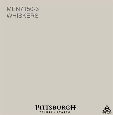 whiskers men7150 3 a brown hue from the pittsburgh paints