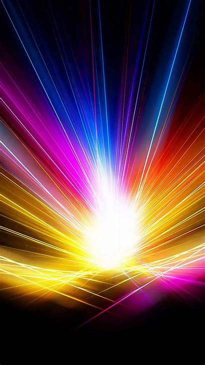 Colorful Galaxy Backgrounds Rainbow Wallpapers Abstract Lit