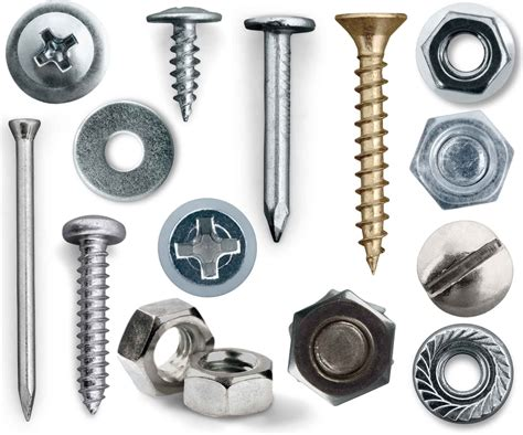 Nails, Screws, & Fasteners