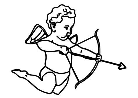 Kleurplaat Cupido by Kleurplaat Cupido Afb 9824
