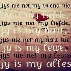 My liefde, lewe... Diepgaande Liefdes Quotes