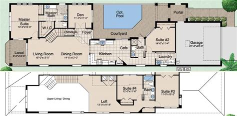courtyard plans house plans courtyard pool house interior luxamcc