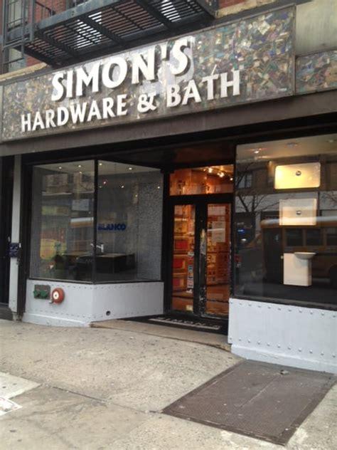 simon s hardware bath hardware stores new york ny