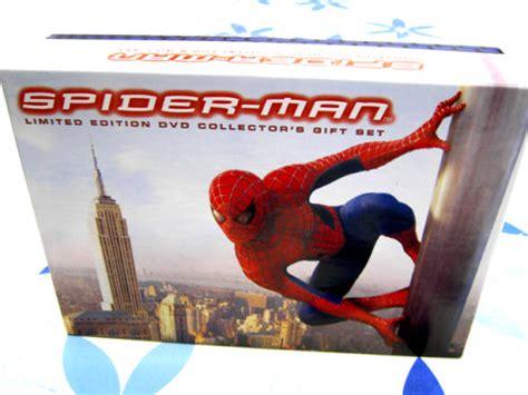 Spider-man Dvd 2002 3-disc Box Set Limited Edition