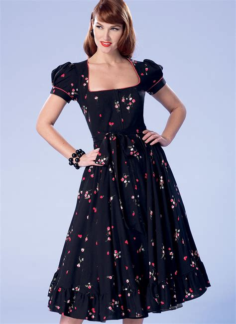 dresses for misses butterick 6352 misses 39 misses 39 square neck zip
